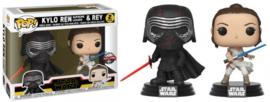 POP! Kylo Ren (Supreme Leader) & Rey - Star Wars - 2 Pack - Special Edition (New)