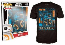 POP! Tees - BB-8 Blueprint - Star Wars (New)