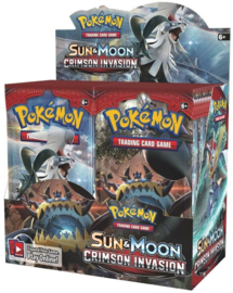Pokémon TCG: Sun & Moon - Crimson Invasion Booster Pack (1x Booster)