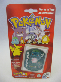 Pokemon PokeROM - Bulbasaur - Collectible CD-ROM (New)