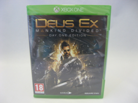 Deus Ex Mankind Divided - Day One Edition (XONE, Sealed)