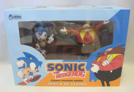 Sonic the Hedgehog - Classic Figurine Boxset 'Sonic & Dr. Eggman' (New)