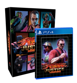 Raging Justice Collector's Edition (PS4, NEW)