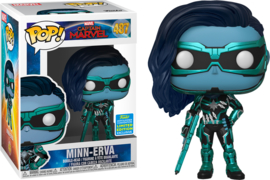 POP! Minn-Erva - Captain Marvel - Funko 2019 Summer Convention Exclusive (New)