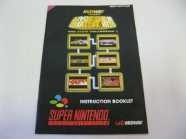 Midway Arcade's Greatest Hits *Manual* (EUR)