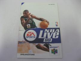 NBA Live 99 *Manual* (NOE)