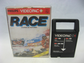 Race / Spin-out / Cryptogram (Videopac+)