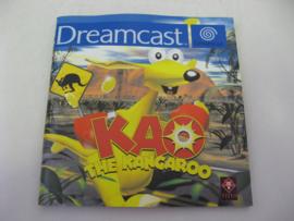 Kao the Kangaroo *Manual* (DC)