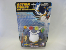 Sonic X - Big the Cat Action Figure (New)