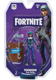 "Fortnite 4"" Action Figure - Teknique (New)"