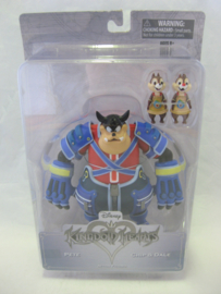 Kingdom Hearts - Pete / Chip & Dale Action Figure (New)
