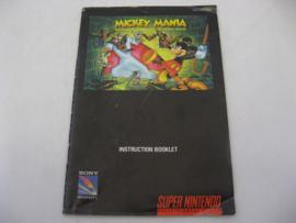 Mickey Mania *Manual* (USA)