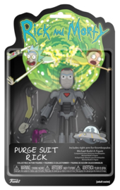 Rick and Morty - Purge Suit Rick Action Figure (New)