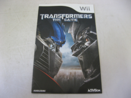 Transformers The Game *Manual* (HOL)