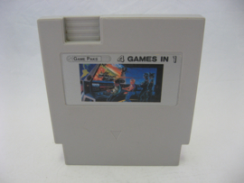 Game Paks 4 Games in 1 (NES Multi Cart)
