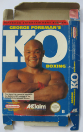 George Foreman KO Boxing *BOX ONLY* (ESP)
