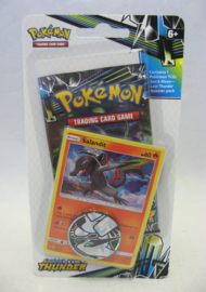 Pokémon TCG: Sun & Moon - Lost Thunder - Booster Pack + Salandit Promo + Coin (New)