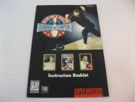 Brunswick World - Tournament of Champions *Manual* (USA)