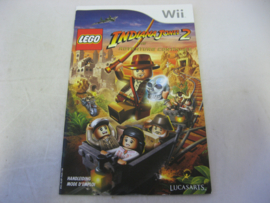 Lego Indiana Jones 2 - The Adventure Continues *Manual* (FAH)