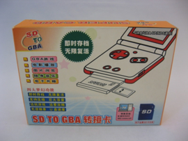 Super Card - SD to GBA (Boxed)