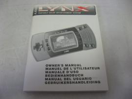 Lynx II Owner's Manual