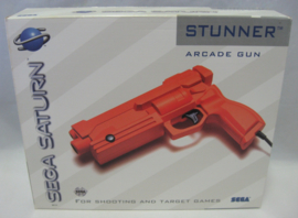 Original SEGA Saturn Arcade Gun 'Stunner' *BOX ONLY*