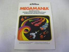 Megamania *Manual*