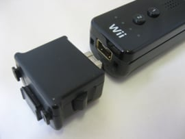 Original Wii Motion Plus Adapter 'Black'