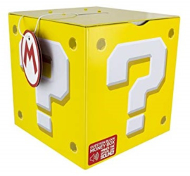 Mario Bros Question Block Money Box (New)