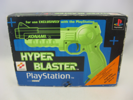 Original PS1 Konami Hyper Blaster Light Gun (CIB)
