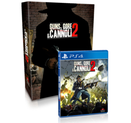 Guns, Gore and Cannoli 2 Collector's Edition (PS4, NEW)