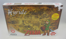 Nintendo Puzzle - The Legend of Zelda: Hyrule - 500 Pieces (New)