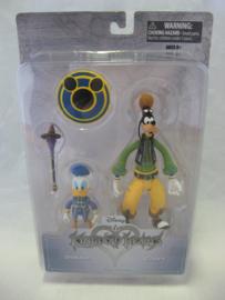 Kingdom Hearts - Donald / Goofy Action Figure (New)
