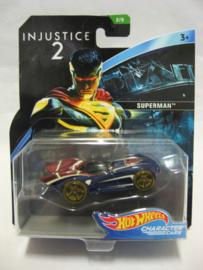 Hot Wheels Character Cars - Injustice 2 - Superman (New)