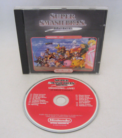 Super Smash Bros Melee: Smashing...Live! - Nintendo Soundtrack (CD)