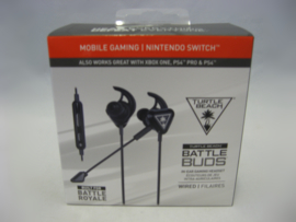 Turtle Beach Battle Buds - In-Ear Gaming Headset - Black (New)