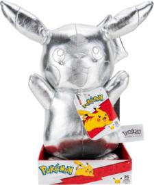 Pokemon: 25th Anniversary - Silver Pikachu Plush 30cm (New)