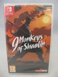 9 Monkeys of Shaolin (UXP, Sealed)