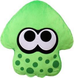 Splatoon Plush Pillow - Inkling Squid Neon Green (New)
