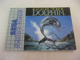 Ecco The Dolphin *Manual* (GG)