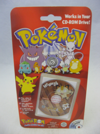 Pokemon PokeROM - Meowth - Collectible CD-ROM (New)