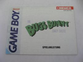 Bugs Bunny in Crazy Castle *Manual* (FRG)
