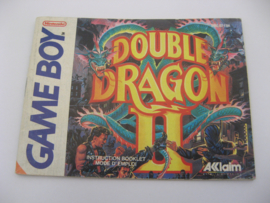 Double Dragon II *Manual* (FAH)
