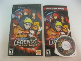 Naruto Shippuden Legends Akatsuki Rising (USA)