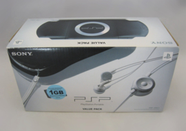 PSP 1004 Console 'Piano Black - Value Pack' incl. 1GB Memory Stick (Boxed)