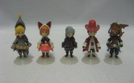 Final Fantasy III Trading Arts Mini Figures Set