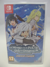 Is It Wrong to Try to Pick Up Girls in a Dungeon? Infinite Combate (EUR, Sealed)