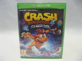 Crash Bandicoot 4 It's About Time (XONE/SX, Sealed)