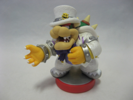 Amiibo Figure - Bowser (Wedding Outfit) - Super Mario Odyssey