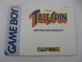 Disney's TaleSpin *Manual* (UKV)